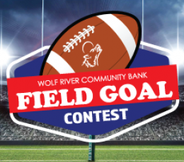 Wolf River Community Bank's Field Goal Contest