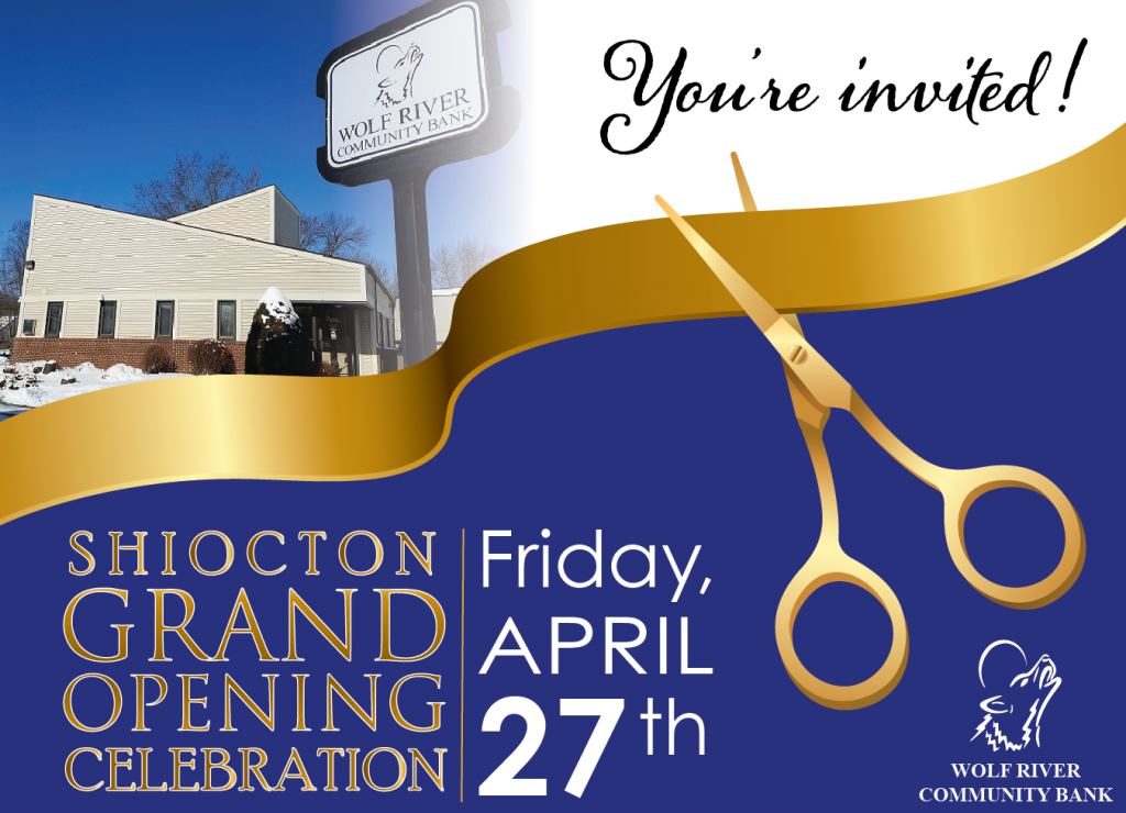 Shiocton Grand Opening April 27th