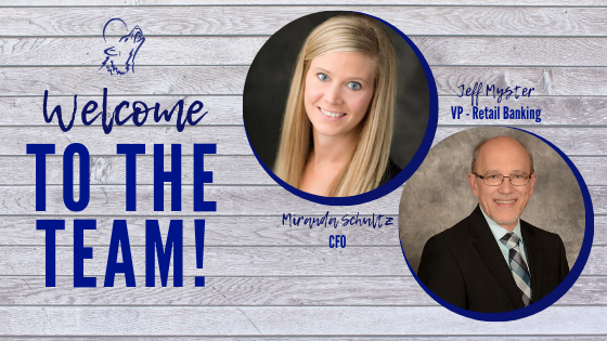 Welcome Miranda Schultz and Jeff Myster