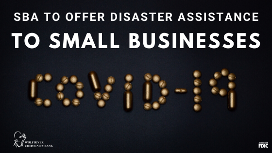 SBA to offer disaster relief to small businesses