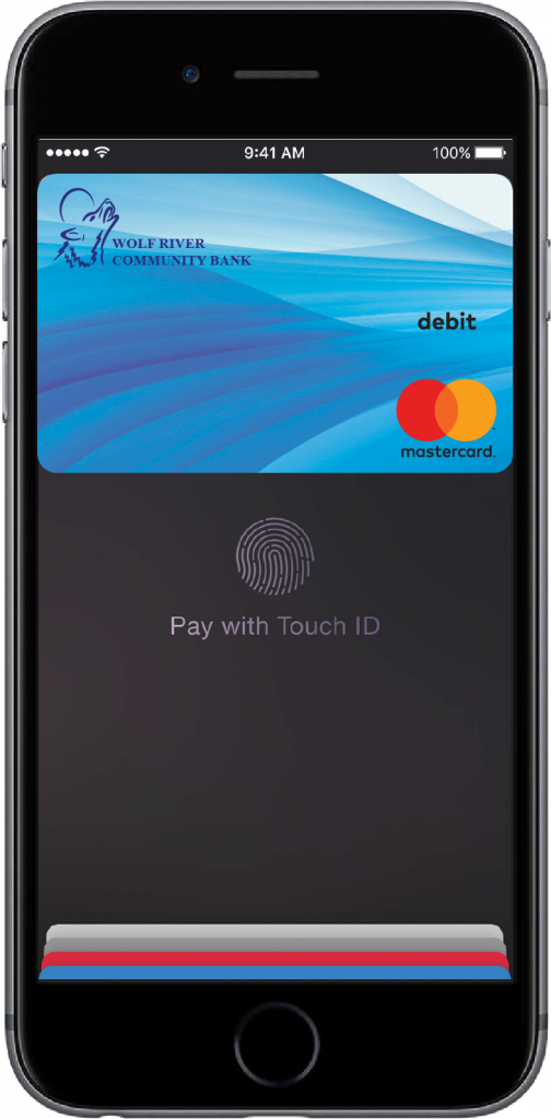 Use your WRCB debit card with Apple Pay