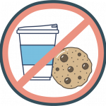 No cookies or refreshments in lobbies at this time.